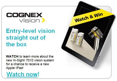 Watch In-Sight video for chance to win iPad